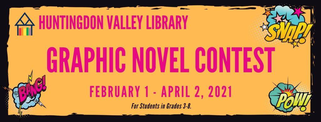 Graphic Novel Contest Banner