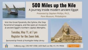 500 miles up the nile may 2021jpg