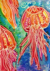 Art with Anita for Kids 2021 - Jellyfish